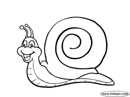 snail coloring getcoloringpages