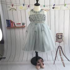 aliexpress com buy 2015 silver tulle princess party dresses