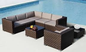 Catalina Outdoor Sectional Sofa Set AdvancedInteriorDesigns - Outdoor sectional sofas