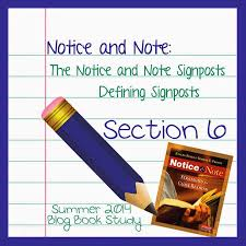 teaching with a touch of twang notice and note book study