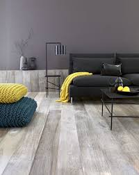 floors decor and more wide plank grey floors black yellow accents
