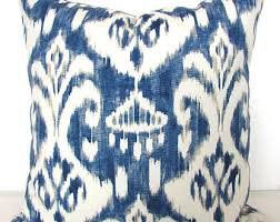 Outdoor Pillow Slipcovers Ikat Pillows Etsy