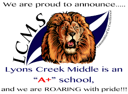 lyons creek middle homepage