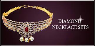 diamond necklace sets images Diamond necklace set white gold diamond sets 18k diamond sets jpg