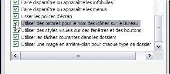 supprimer icone bureau retirer le nom des raccourcis du bureau windows xp