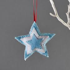 mini star christmas decoration children u0027s craft kits from buttonbag