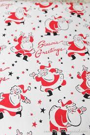 retro wrapping paper some recent retro christmas acquisitions retro santa