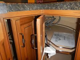 radiant bi f pie cut lazy susan kitchen cabinet hinge face frame