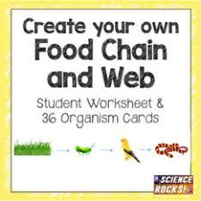 everything you need to teach food chains welcome to science rocks