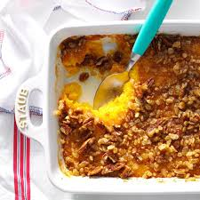 what to take to a thanksgiving potluck butternut squash bake recipe taste of home