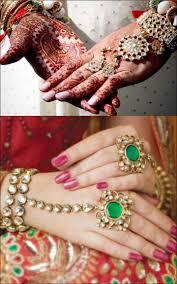 bridal bracelet with ring images Bengali bridal jewellery 9 amazing ways to mix match jpg