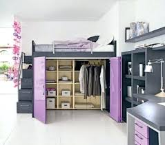 Bunk Beds With Wardrobe Loft Beds Loft Bed With Wardrobe Underneath Contemporary Small