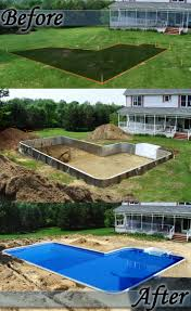a backyard transformation by only alpha pool products trivector