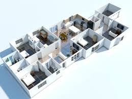 Uncategorized Cool Interior Design Room by Architecture Apartments Decoration Lanscaping 3d Floor Plan