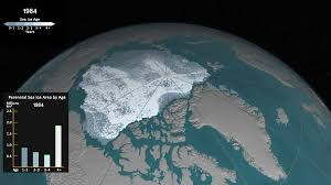 Warmer Atmosphere Climate Change Vital Signs Of The Planet See How Arctic Sea Ice