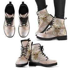 s boots designer skull skeleton leather s boots all sizes designer made
