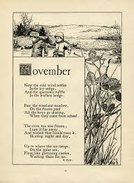 Old Halloween Poems November Poem By K Pyle Old Design Shop Blog