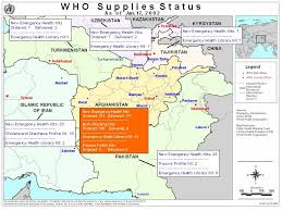 kabul map who afghanistan maps