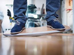 the level is a balance board for standing desks and it u0027s great