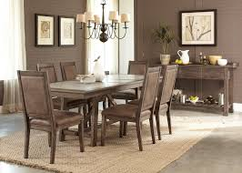 casual dining room sets liberty furniture brook casual 7 trestle table set
