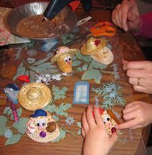 christmas crafts with seashells beach treasures and treasure beaches