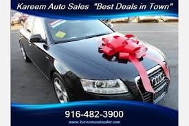 a6 audi for sale used used audi a6 for sale in sacramento ca edmunds
