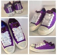 wedding shoes converse sparkly glitter bling converse purple wedding shoes