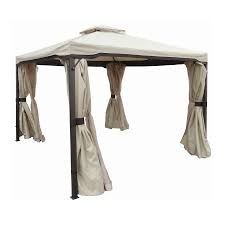 Lowes Patio Gazebo Stunning Ideas Metal Gazebo Lowes Outdoor Fiture