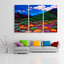 Home Decoration Painting by Online Get Cheap Mountains Oil Painting Aliexpress Com Alibaba