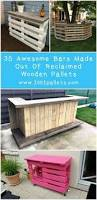 Outdoor Furniture Made From Pallets by Low Cost Diy Pallet Wood Creations Wood Pallet Bar Wood Pallets