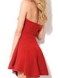 cheap red strapless mini skater dress popular undoubtedly choice