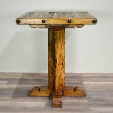 wooden high bar table bar table rustic wood coma frique studio a268cad1776b