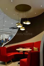 diner seats luxury restaurant interior decoration led chandelier