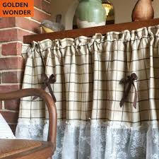 american country lace kitchen curtains short door curtain kitchen