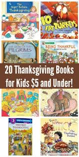 20 thanksgiving books for 5 or less