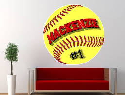 softball bedroom ideas zspmed of softball wall decals