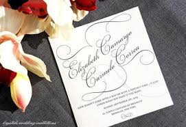 wedding stationery invitations save the dates programs menus