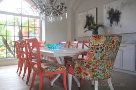 be colorful coastal colorful coastal dining room