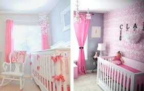 chambre de b b fille decoration chambre bebe fille mur gris foncac dans cette