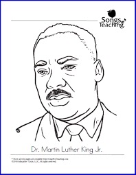 Martin Luther King Jr Day Free Printable Coloring Page From Dr Martin Luther King Jr Coloring Pages