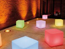 cube led accu wireless outside lights for landscape lighting moree