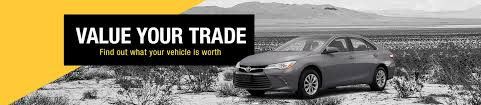 trading in a brand new car value your trade in vehicle in gallup nm amigo toyota