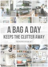 how to organize my house room by room a bag a day keeps the clutter away 12 months of decluttering the