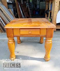 Farmhouse Side Table Farmhouse Side Table How To Update Your Look Prodigal Pieces