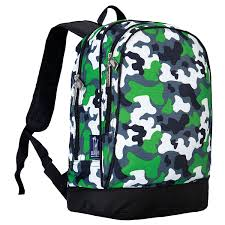 amazon com wildkin green camo sidekick backpack toys u0026 games