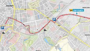 Aachen Germany Map by Info U0026 Service Vennbahn