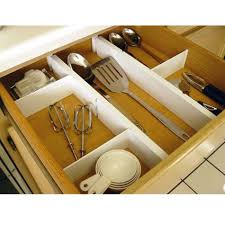 Kitchen Cabinet And Drawer Organizers - plastic kitchen drawer dividers set of 5 axis 6805 cabinet