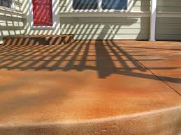 Stain Concrete Patio by Staining Concrete Patio To Look Like Stone The Combination Of