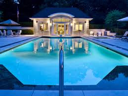 Luxury House Plans With Pools Modern House Design With White Exterior Wall Can Be Decor With Lap