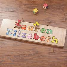personalized names personalized name puzzle board for kids 2 names kids gifts